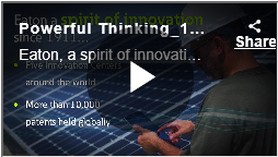 Power Thinking, video by Eaton
